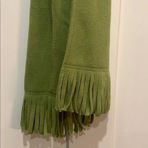 Green Fleece scarf